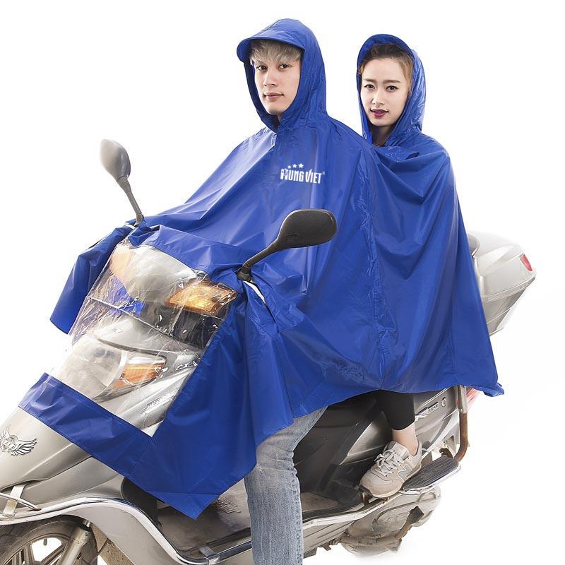 áo mưa cánh dơi 2 đầu